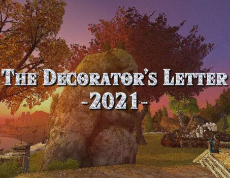 The Decorator's Letter – 2021