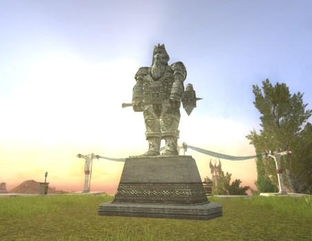 Dwarf Statue – Hammer