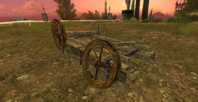 Overturned Cart