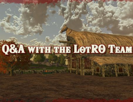 Q&A with the LotRO Team