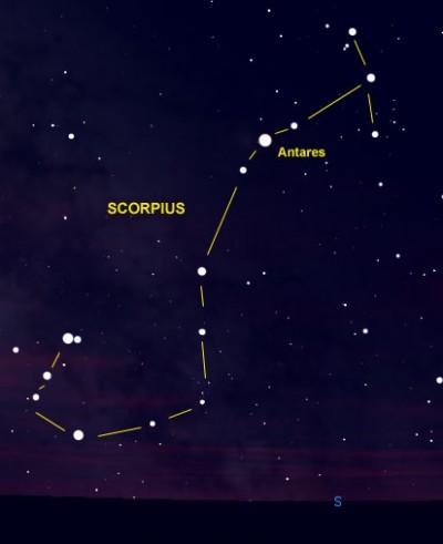 Constellation-Scorpius-Antares
