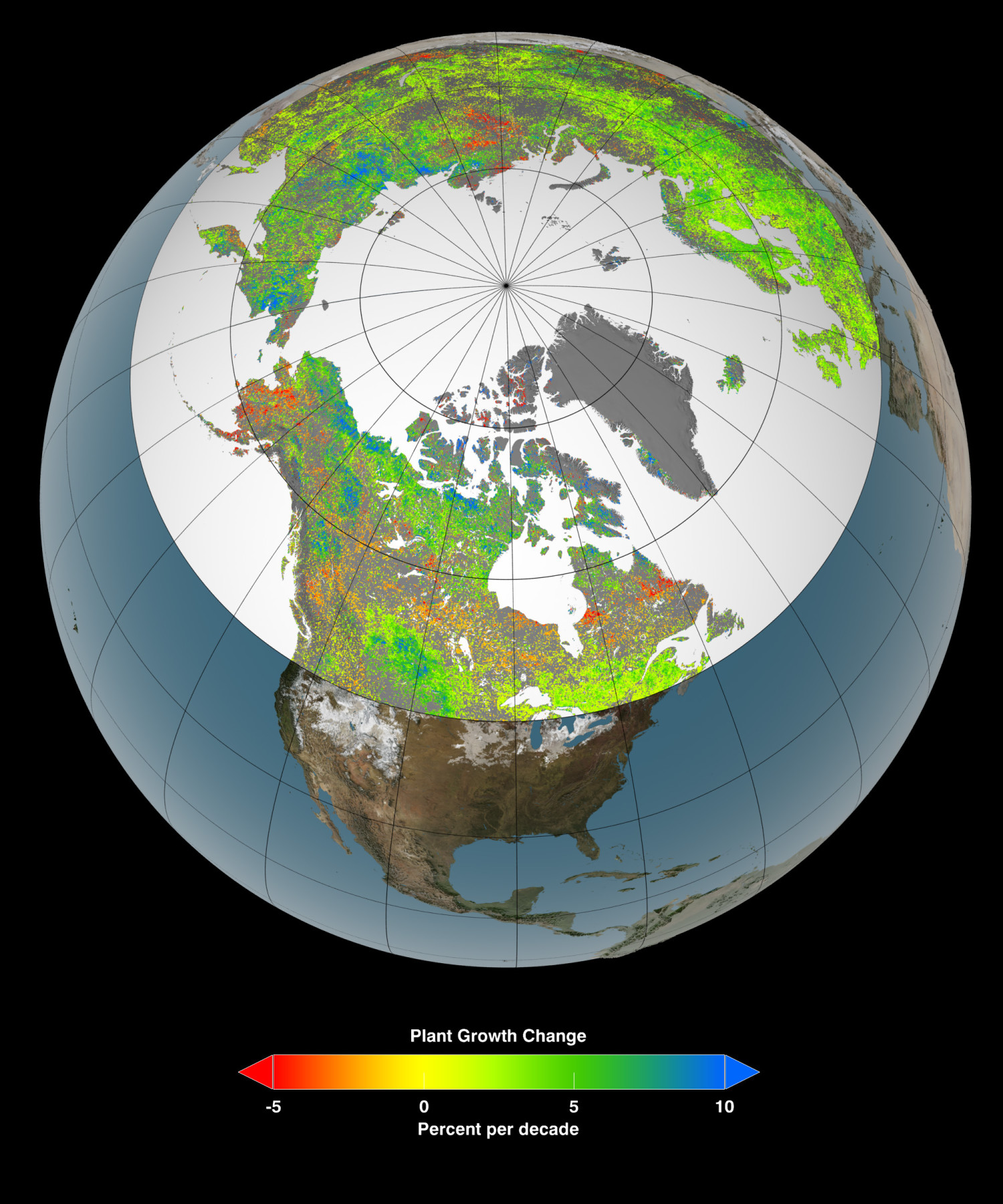 Greening Of Earth S Northerly Latitudes