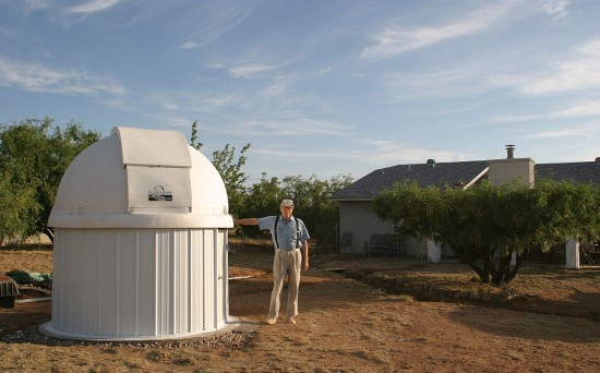 Amateur astronomer Bruce Gary at the privately owned  Hereford Arizona Observatory became the first to recover Comet ISON when it emerged from the sun's glare in August 2013.