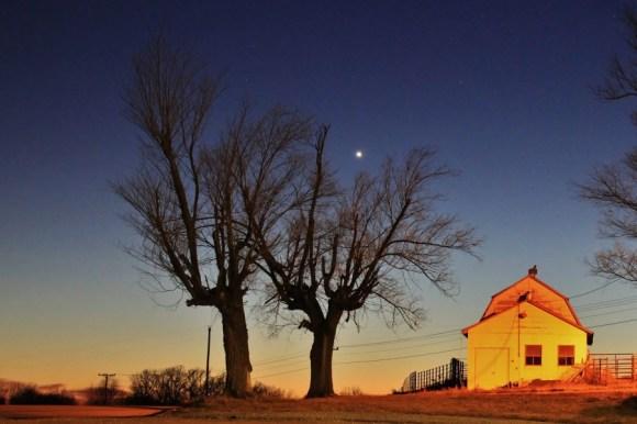 Venus on Dec. 26 by Danny Crocker-Jensen