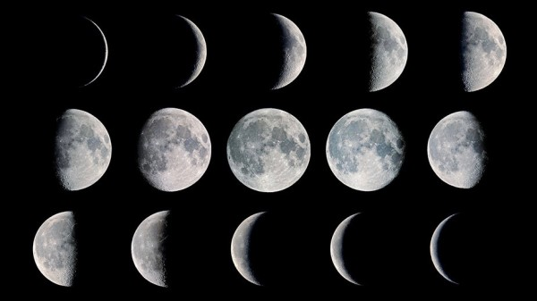 Moon phase composite via Fred Espenak. Read more about this image.