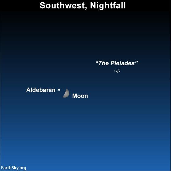 Image result for moon occults aldebaran