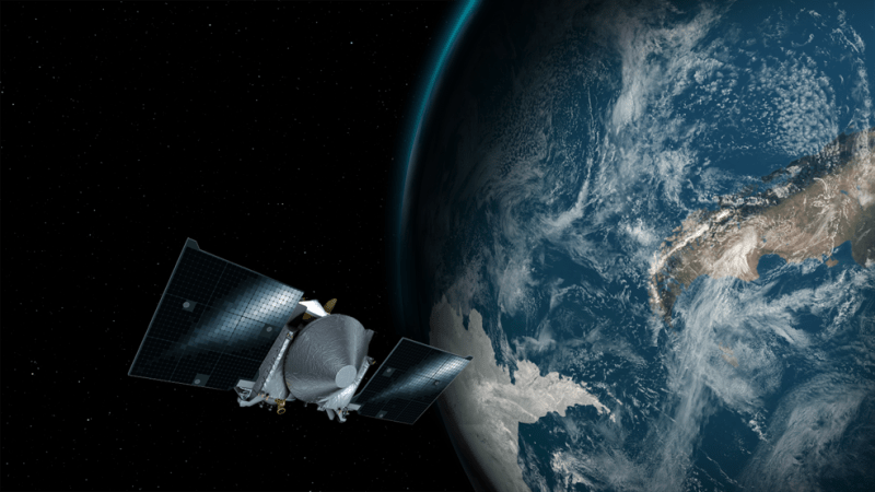 Asteroid spacecraft to slingshot past Earth