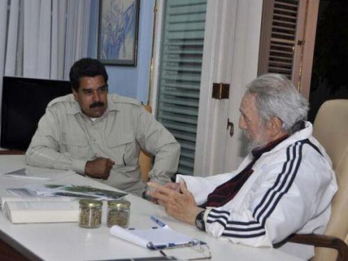 Fidel-y-Maduro-estudios-revolucion