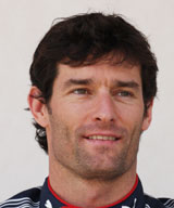 Mark Webber portrait