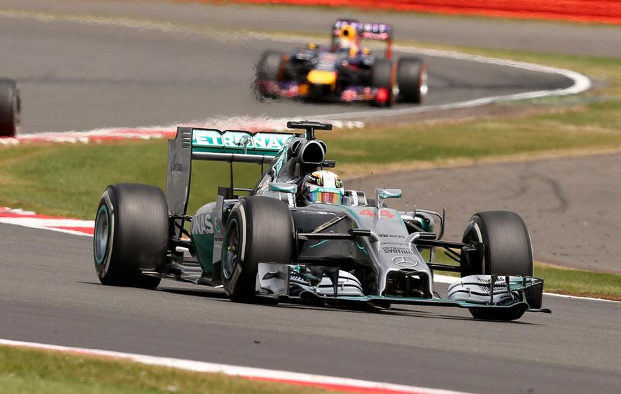 Lewis Hamilton Wins British GP 2014 Podium POSTER
