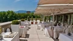 Terraza de Restaurante Etxanobe Bilbao