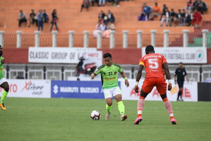 Gokulam earns a point against Neroca FC