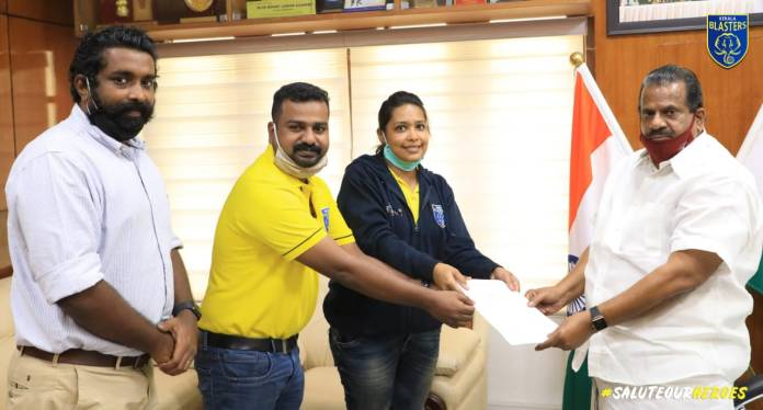 KERALA BLASTERS FC DONATES AN ADDITIONAL 1.5 LAKH PCS. OF HYDROXYCHLOROQUINE SULPHATE TABLETS