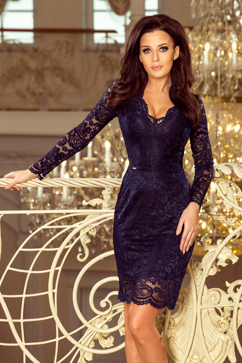 lace navy -