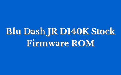 Blu Dash JR D140K