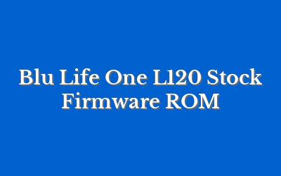 Blu Life One L120