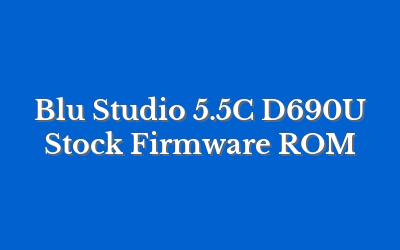 Blu Studio 5.5C D690U