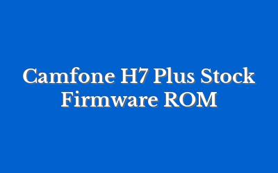 Camfone H7 Plus