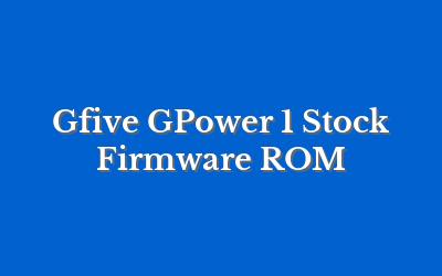 Gfive GPower 1
