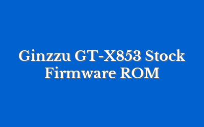 Ginzzu GT-X853