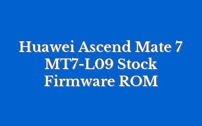 Huawei Ascend Mate 7 MT7-L09