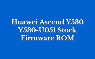 Huawei Ascend Y530 Y530-U051