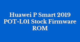 Huawei P Smart 2019 POT-L01