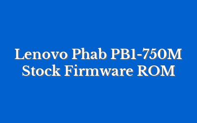 Lenovo Phab PB1-750M