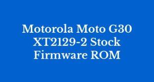 Motorola Moto G30 XT2129-2