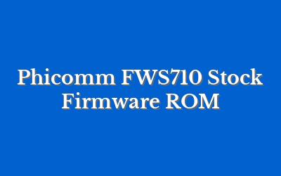 Phicomm FWS710