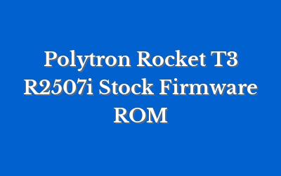 Polytron Rocket T3 R2507i