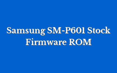 Samsung SM-P601