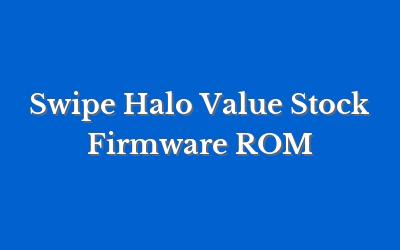 Swipe Halo Value