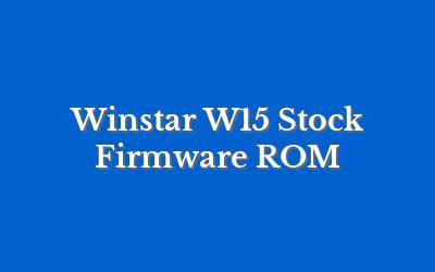 Winstar W15
