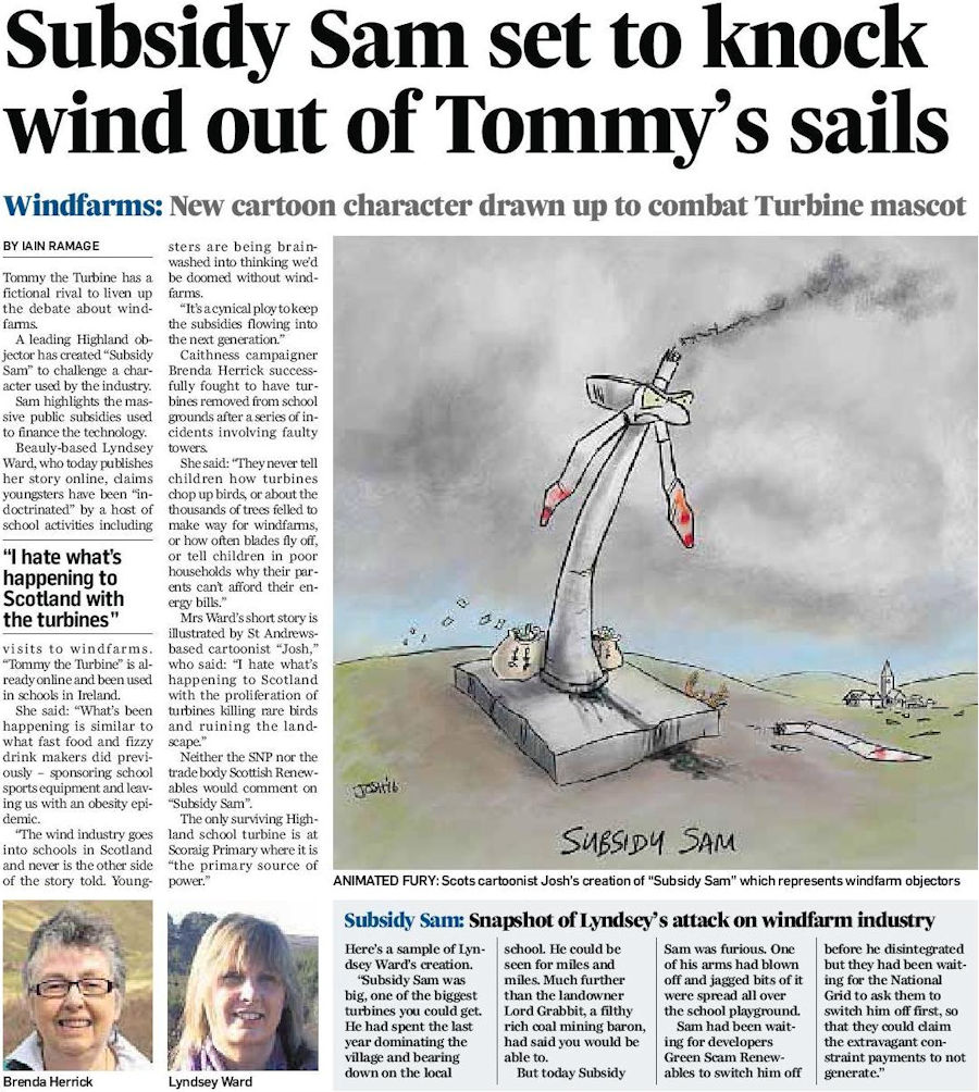 Subsidy Sam set to knock wind out of Tommy's sails