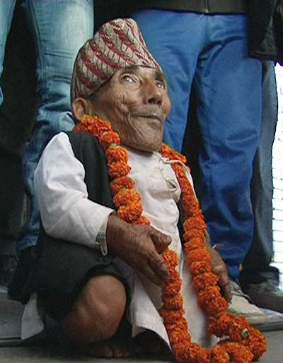 Chandra-Bahadur-Dangi Smallest Human Beings Ever - Smallest Adult