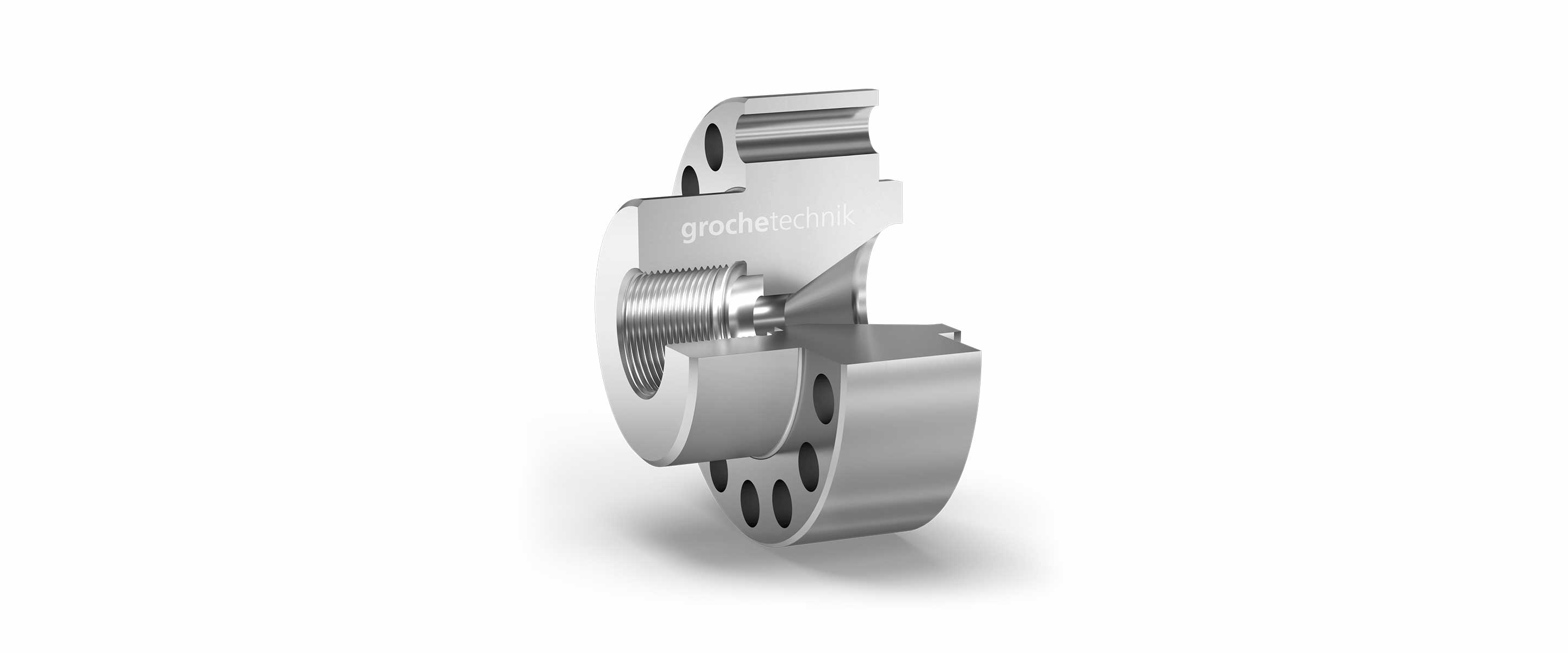 Flange connections are avail- able for all types of machines according to requirements.