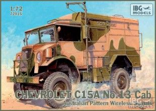 IBG 72015 1/72 Chevrolet C15A No.13 Cab Australian Pattern Wirel