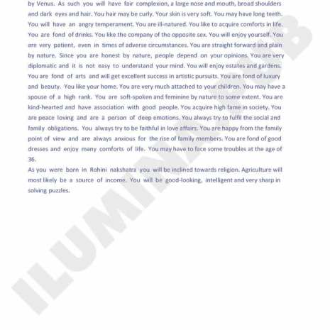 Vedic Horoscope Report - Page 40