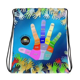 ILUMINA Drawstring Bag: Hand Regions