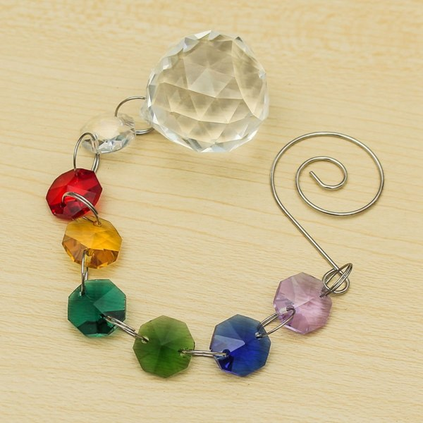 Pendulum of Suncatcher Crystals