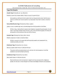Sample Vedic Horoscope Report - Page 22