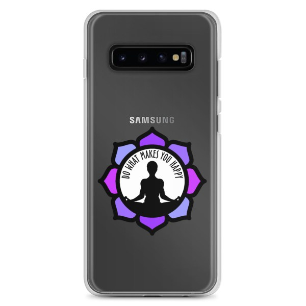 Inspirational Samsung Clear Case, for Galaxy S10+