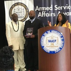 Washington Adventist University Graduate Receives the NAACP 2017 Roy Wilkins Renown Service Award