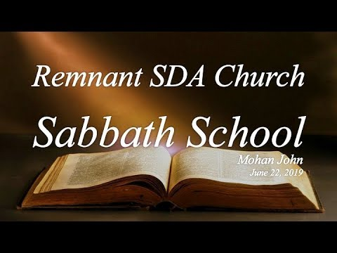 """Sabbath School Study: """"What Have They Seen in Your…"""