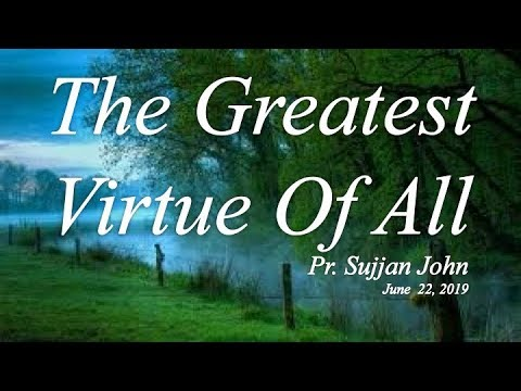"""Worship: """"The Greatest Virtue Of All"""""""