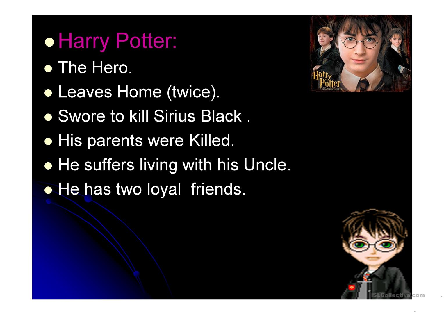 Harry Potter And The Prisoner Of Azkaban Worksheet