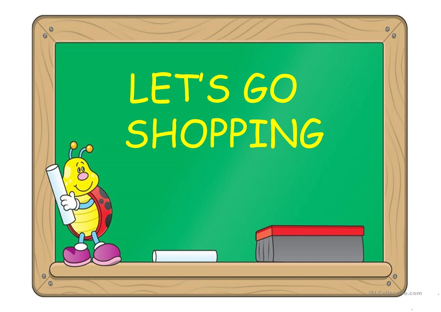 Let S Go Shopping Ppt