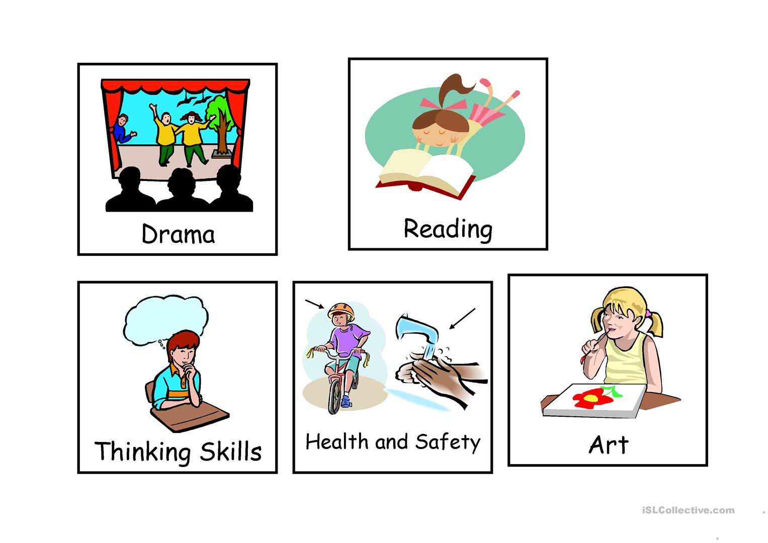 Visual Timetable Worksheet