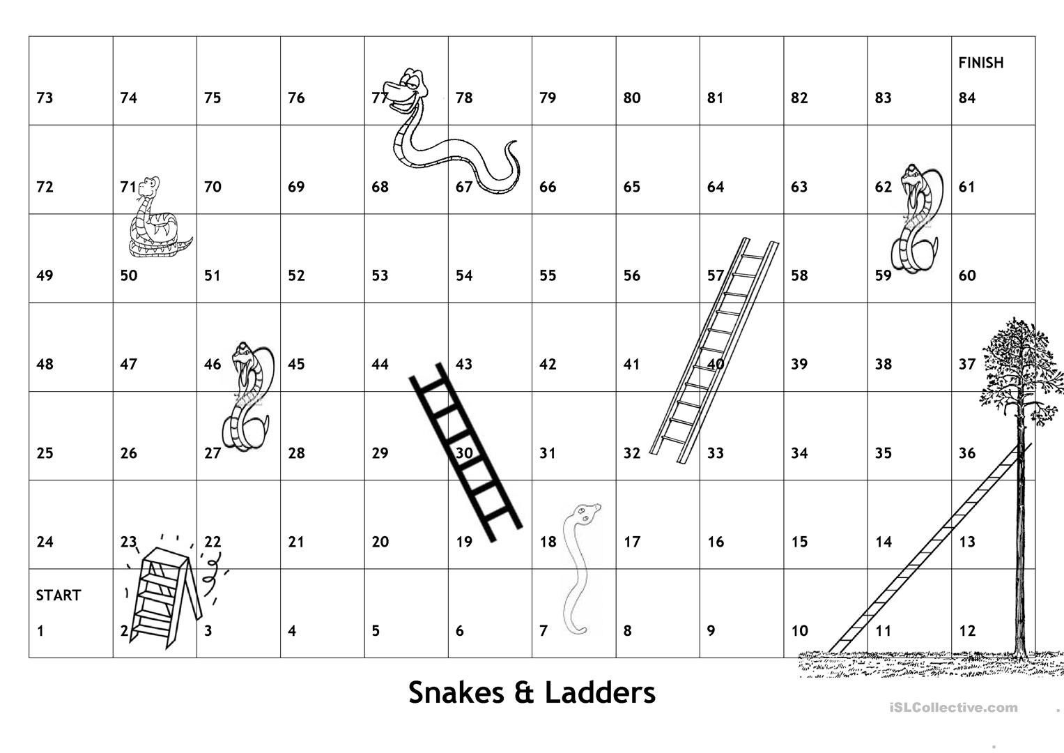 Free Printable Snake Worksheet